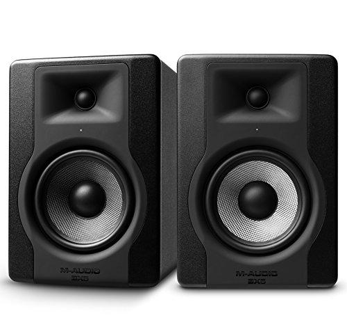 M-Audio BX5 D3 100 W, 5 Inch Active Studio Monitor Speaker (Pair) for Music...