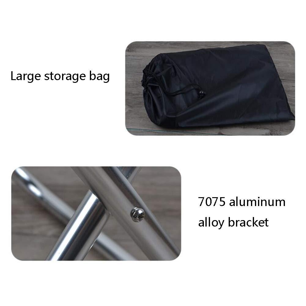 Pliant Camping Tabouret Portable MRXUE Extérieur en Alliage nvN0wm8