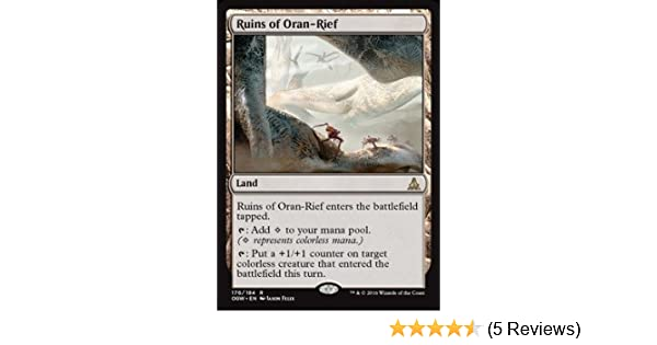Ruins of Oran-Rief - Rare Oath of the Gatewatch 176//184