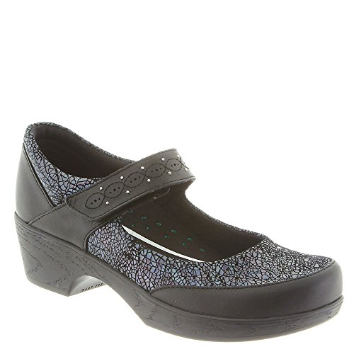 Klogs Footwear Womens Silverton Mary Jane Clog Black Prism