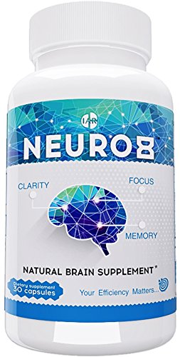 Natural Brain Supplement - Extra Strength Nootropic - Brain Support for Focus, Energy, Mental Clarity & Memory - Scientifically Formulated Brain Booster with Ginkgo Biloba, St. John's Wort, & More