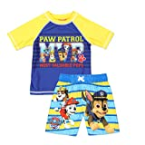 Paw Patrol Boys Swim Trunks and Rash Guard Set