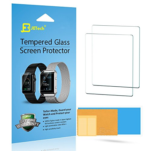 JETech 2 Pack Screen Protector Tempered