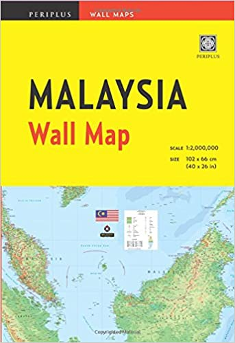 Malaysia Wall Map First Edition Periplus Wall Maps Periplus - Amazon maps