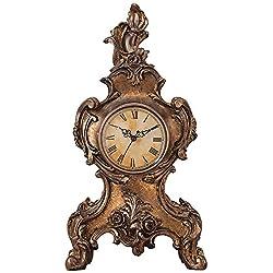 Taryn Vintage Style 16 1/4 High Table Clock
