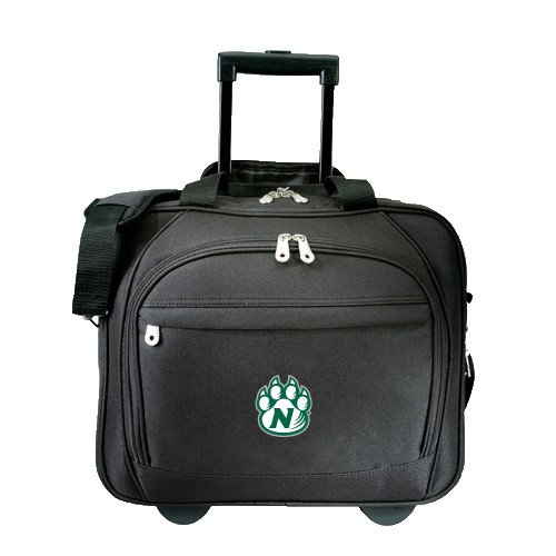 Northwest Missouri State Embassy Plus Rolling Black Compu Brief 'Official Logo' by CollegeFanGear