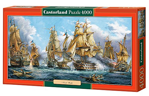 Castorland - Navel Battle 4000 piece panoramic puzzle