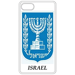 Israel - Coat Of Arms Flag Emblem White Apple Iphone 4 - Iphone 4s Cell Phone Case - Cover