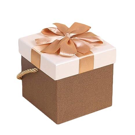 Wa 1X Dulce Cajas Galletas Cajas de Regalo Square Envoltura de Regalos Caja de
