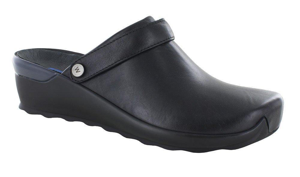 WOLKY Womens Clogs & Mules 2577 Bi Black, Size-36