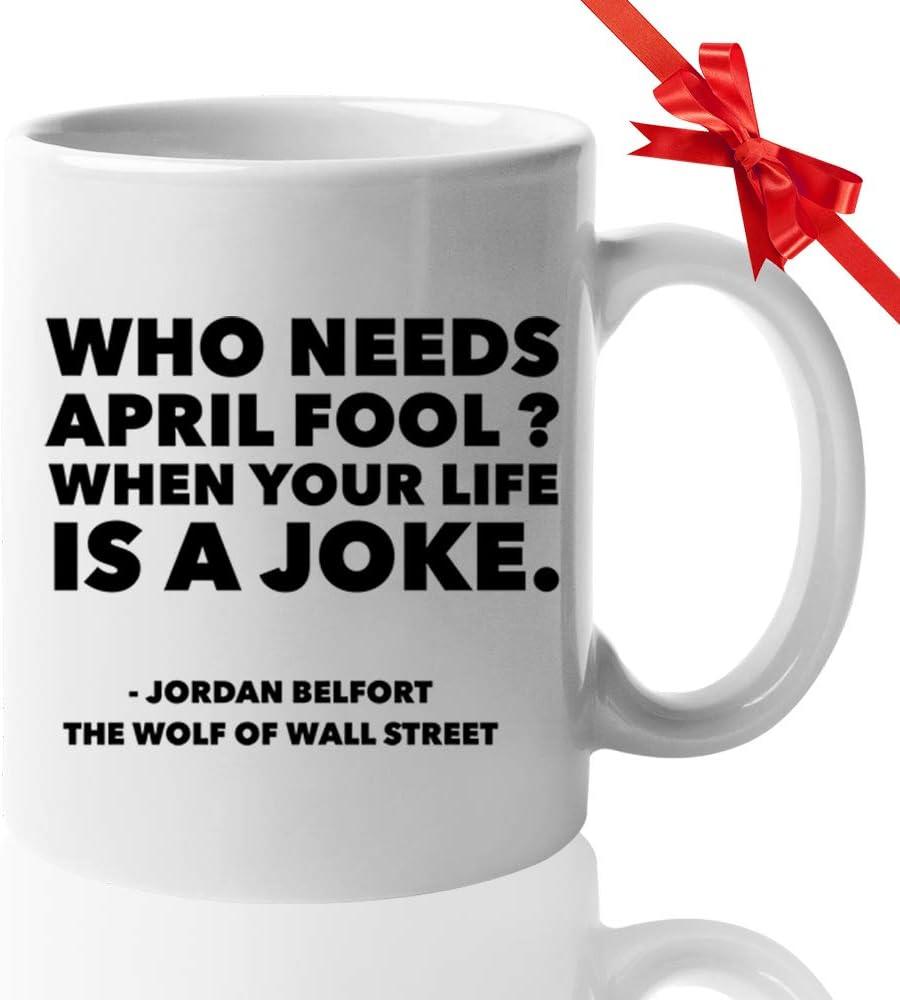 The Wolf Of Wall street Movie Personalised Printed Mug