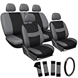Automotive : OxGord Mesh Seat Cover for Car, Truck, Suv or Van (Gray & Black) (17 Items)