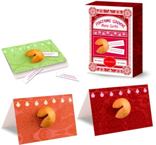 Fortune Cookie Note Cards