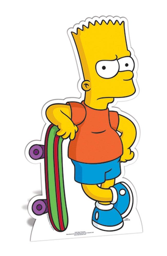 The Simpsons Bart Carton standy 90/cm