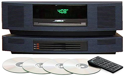 (Bose Wave Music System III with Multi-CD Changer, Midnight Blue, Limited Edition, Compatible with Alexa)