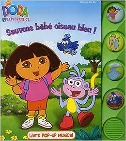 Amazon Fr Sauvons Bebe Oiseau Bleu Livre Pop Up
