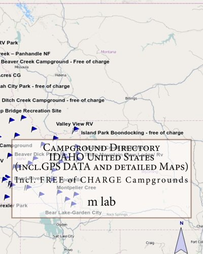 Campground Directory IDAHO United States (incl.GPS DATA and detailed Maps)