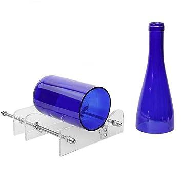 TAOtTAO cortador de botellas de cristal, kit de herramientas para cortar botellas de vino y cerveza: Amazon.es: Hogar