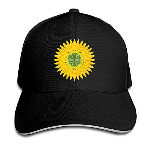 (WWTBBJ-B Sunflower Daisy Hunting Sandwich Headgear)