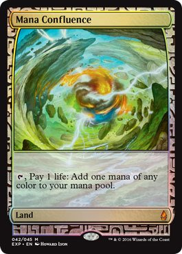 Magic: the Gathering - Mana Confluence - Expedition Lands - Foil