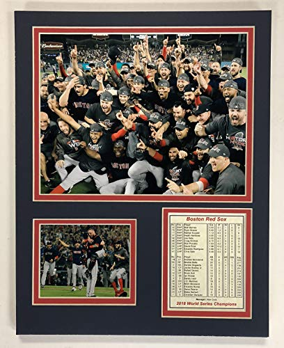 - Legends Never Die Boston Red Sox - 2018 World Series Champions - Mound - 11