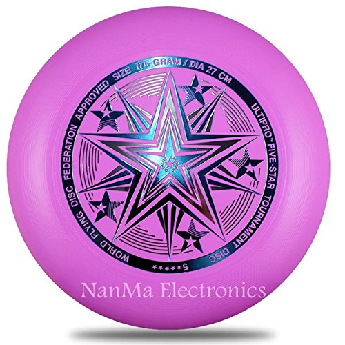 Fidgetfidget 1Pc Adult Ultipro Five Star Disc Frisbee Outdoor Sports Toy New 175G 27Cm
