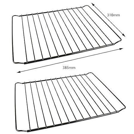 Pack de 2 Estantes Rejilla de Horno Universales - Diseño Ajustable ...