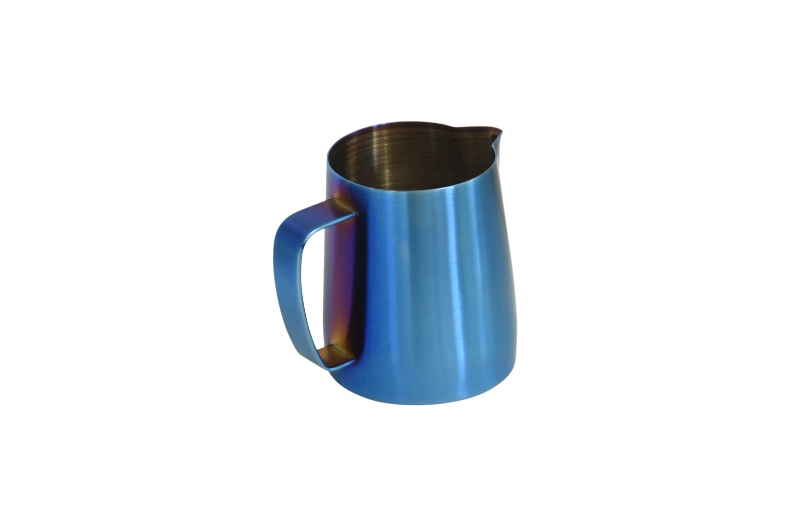 Latte Art | Stainless Steel Premium Milk Frothing Pitcher (Light Blue, 20 oz)
