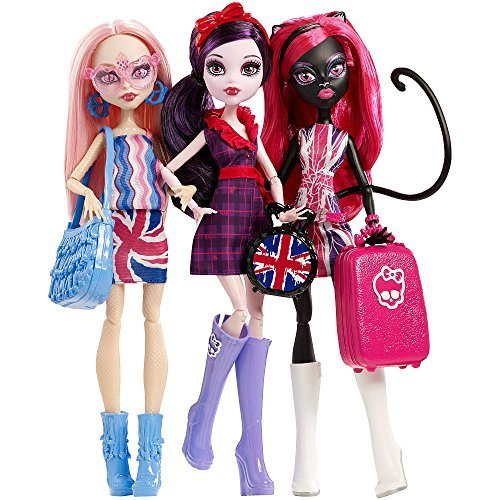 Monster High Exclusive Ghoulebrities in Londoom! (Monster High Catty Noir)