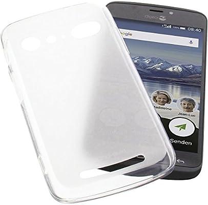foto-kontor Funda para Doro 8040 Protectora de Goma TPU para móvil ...