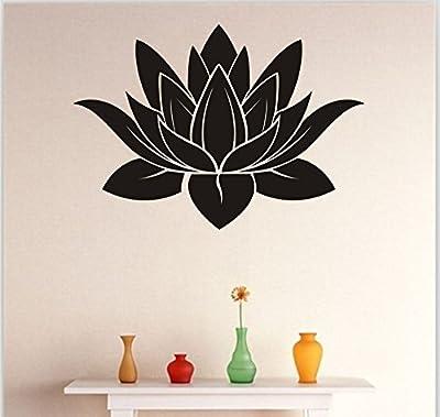 Dnven Hindu Buddha Indian Lotus Yoga Mandala Tribal Wall Vinyl Sticker Decals Decor Art Bedroom Mural