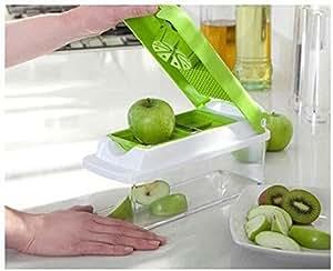 Super Slicer Plus Vegetable Salad Fruit Peeler Cutter Chopper Grater Nicer Dicer