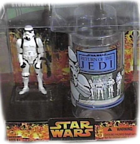 Action Figure Target (Star Wars: The Empire Strikes Back Target Exclusive Stormtrooper Collector's Glass with Special 3 3/4 Inch Action Figure)