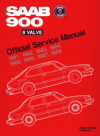 SAAB 900 8 Valve Official Service Manual: 1981-1988 ()