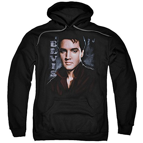 Elvis Presley The King Rock Tough Adult Pull-Over -