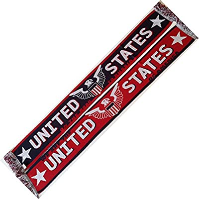 Euroscarves USA Eagle Soccer Knit Scarf