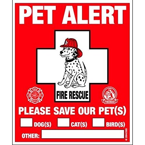 PET SAFETY ALERT 234001 2-Count Static
