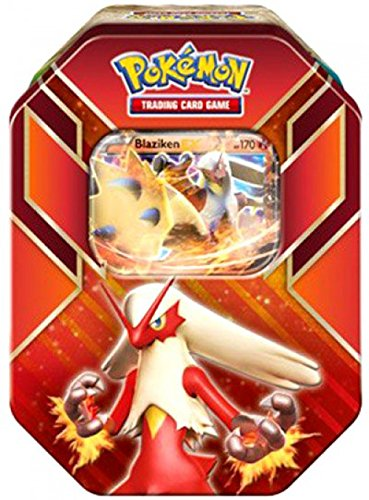 Pokemon Blaziken EX Hoenn Power Summer Collector Tin 2015 Sealed