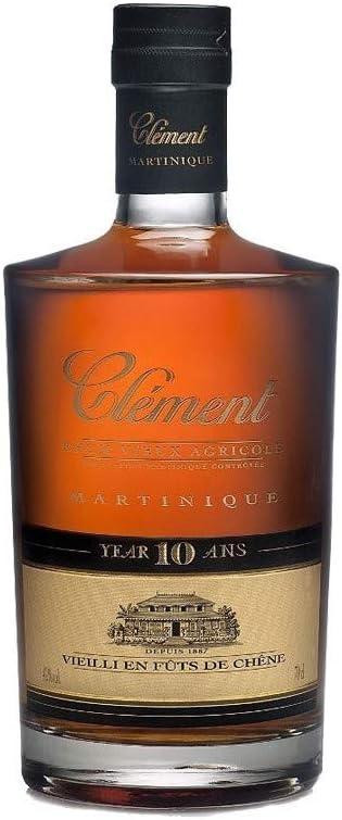 Clément Clément Rhum Vieux Agricole 10 Ans 42% Vol. 0,7L In ...