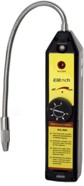 Elitech WJL-6000 Freon Leak Detector Halogen Leak Detector