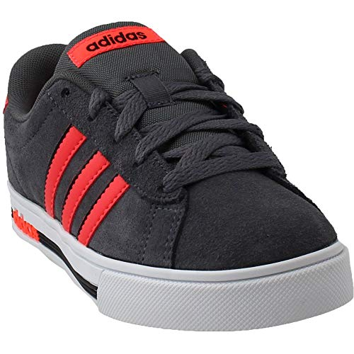 Pictures of adidas Kids' Daily Team Sneaker BC0155 Grey/Red 1