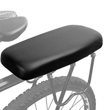 FAMLYJK Bicicleta Suave cojín del Asiento Trasero ...