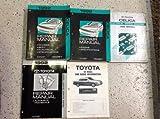 1992 Toyota MR2 MR 2 Service Repair Shop Manual Set 92 W EWD & TRANSAXLE