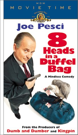8 Heads in a Duffel Bag [VHS]