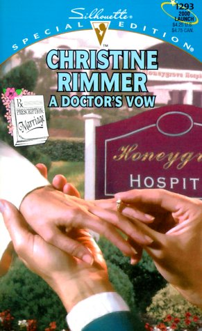 book cover of A Doctor\'s Vow