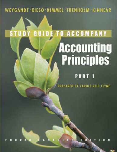 Accounting Principles, Part 1 Study Guide
