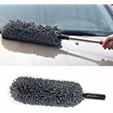Generic Car Cleaning Microfiber Round Shaped Duster (Assorted Colour)