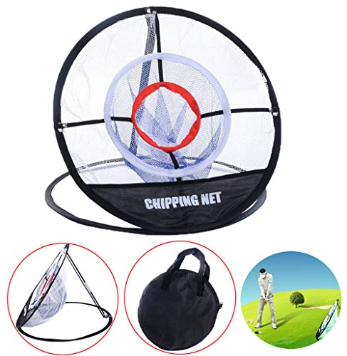 Ueasy Portable Golf Training Chipping Net Hitting Aid Golf Practice Net Cage Perfect for Short Accuracy Practice