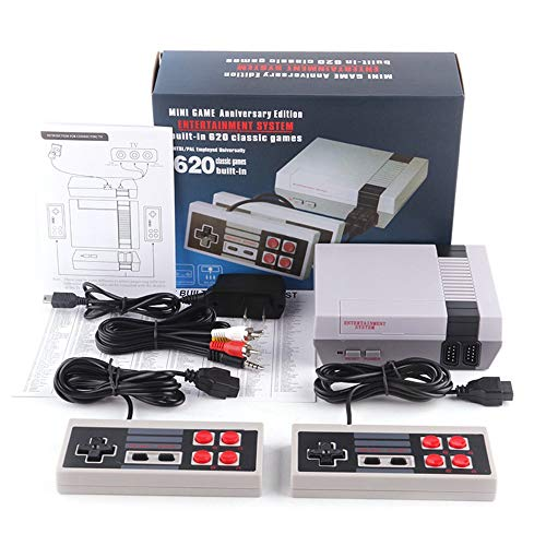 620 Games in 1 Classic Retro TV Gamepads Mini Game Console with 2 Controllers Consoles by...