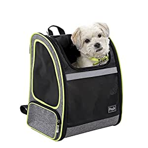 Petsfit 17.3''H13''W10.6''L Inches Comfort Dogs Carriers Backpack For Cat Or Dog, Go For A Walk, Hiking, Traveling And Cycling